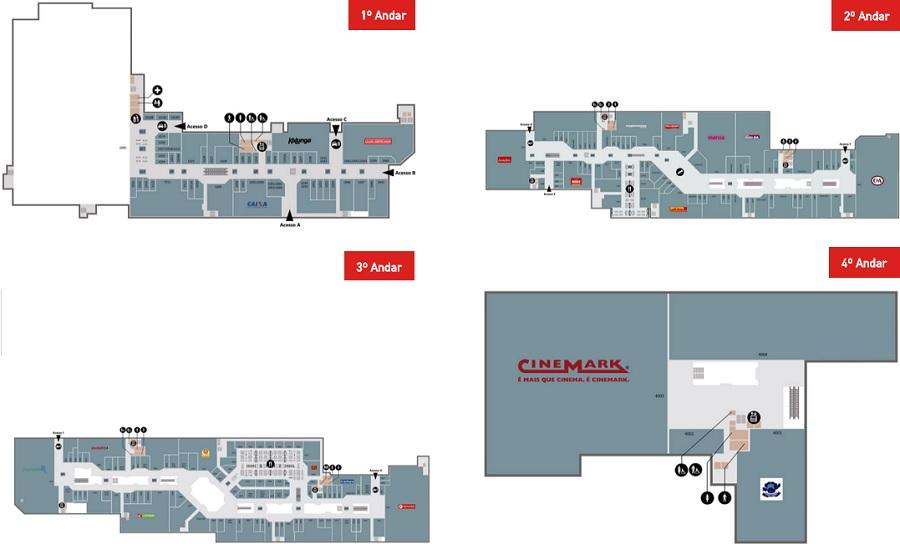 4ef5e0dfa5055 Metropolitan Shopping Betim situado em Betim (Minas Gerais ...