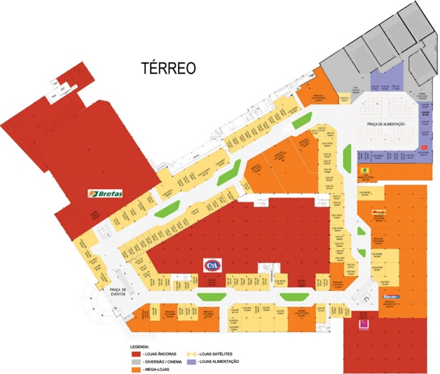 cbeeb9803 Portal Shopping situado em Goiânia (Goiás) - horários de ...
