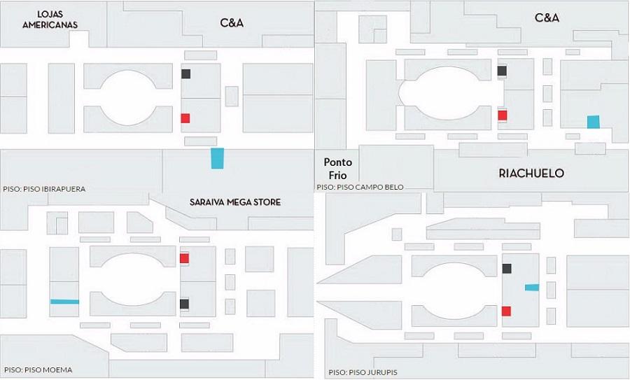 e16baead8 Shopping Ibirapuera situado em São Paulo (São Paulo) - horários de ...